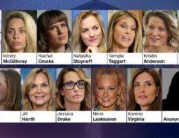 زنان مورد تجاوز ترامپ