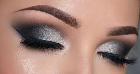 آرایش چشم, آرایش چشم دودی زیبا