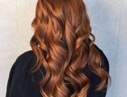 رنگ موی قهوه ای موکا